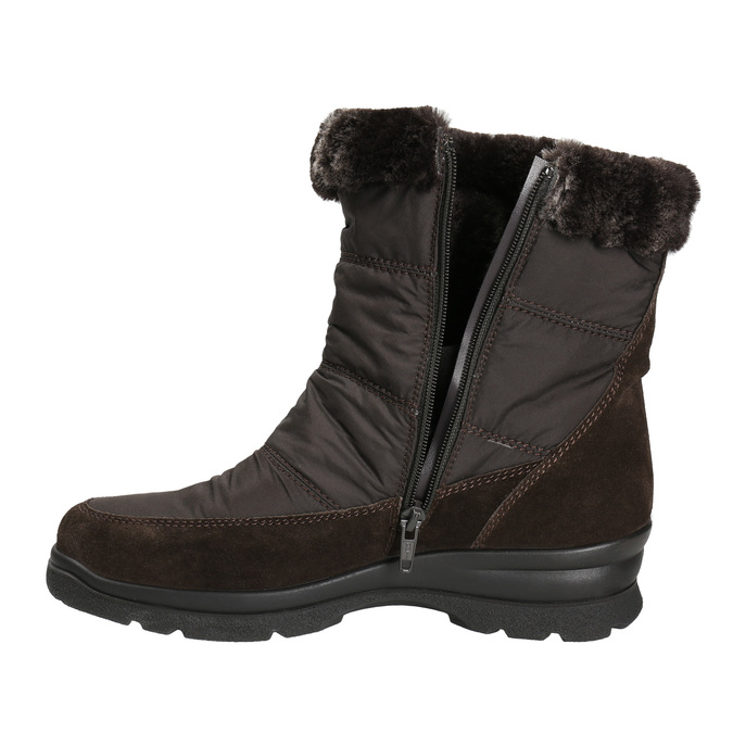 Ladies' winter boots, brown , 599-4618 - 26