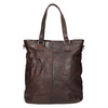 Brown Leather Handbag bata, brown , 964-4245 - 26