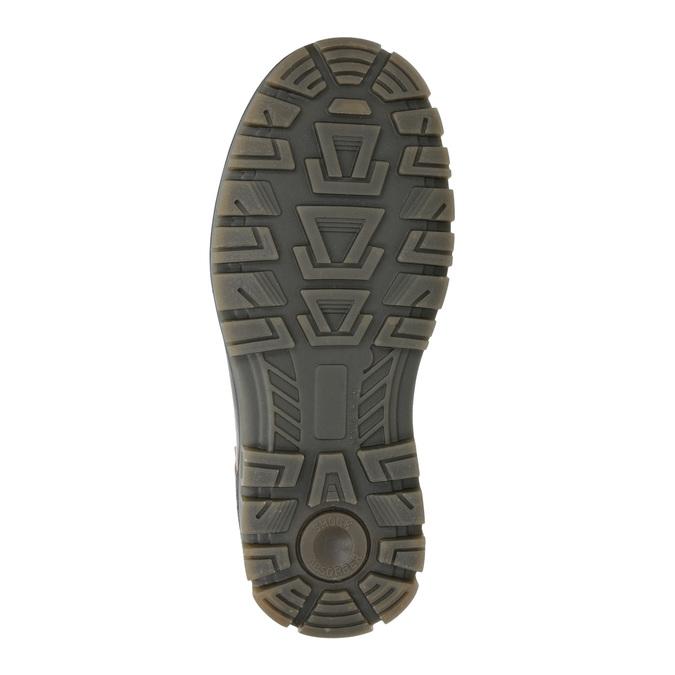 Children's Winter Ankle Boots weinbrenner-junior, brown , 496-8611 - 17