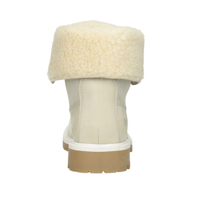 Ladies' Winter Boots with Fleece weinbrenner, white , 596-1668 - 16