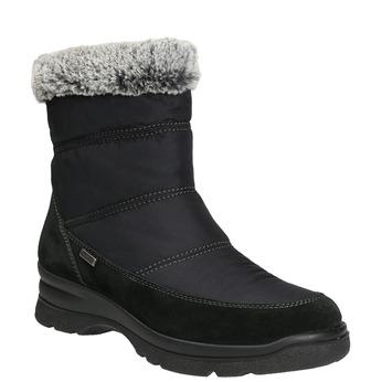 Ladies' winter snow boots, black , 599-6618 - 13