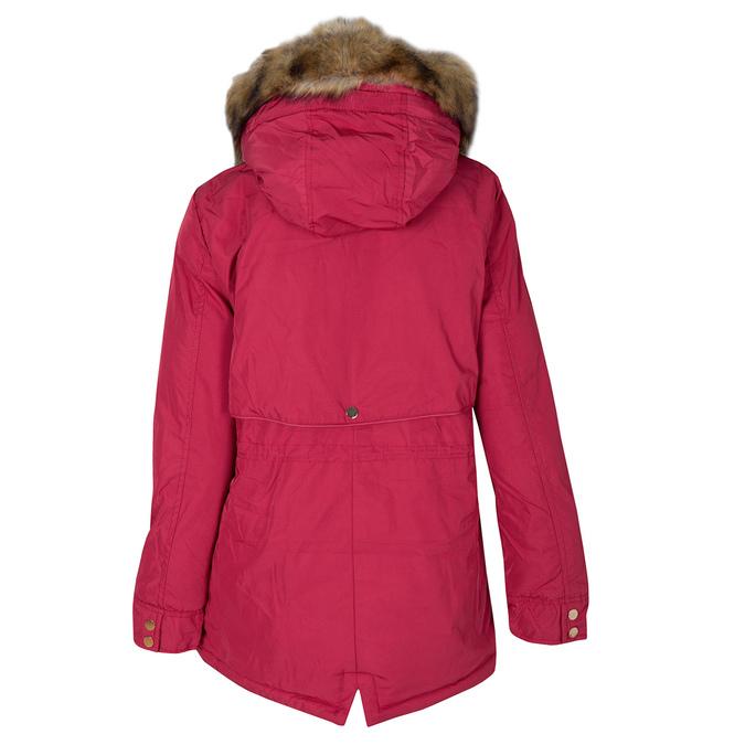 Ladies' Red Hooded Jacket bata, red , 979-5177 - 26
