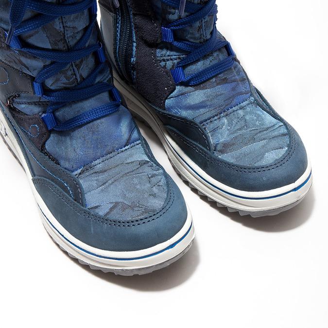 Children's Snow Boots weinbrenner-junior, blue , 393-9607 - 14