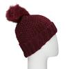 Furry Pompom Hat bata, multicolor, 909-0152 - 15