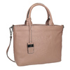 Beige Leather Handbag picard, beige , 964-6080 - 13