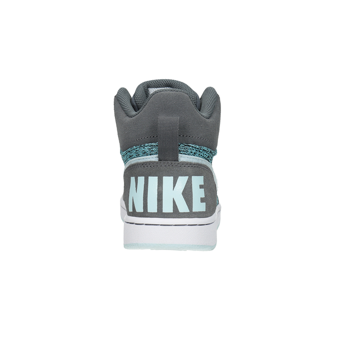 Children's High-Top Sneakers nike, gray , 401-2108 - 15