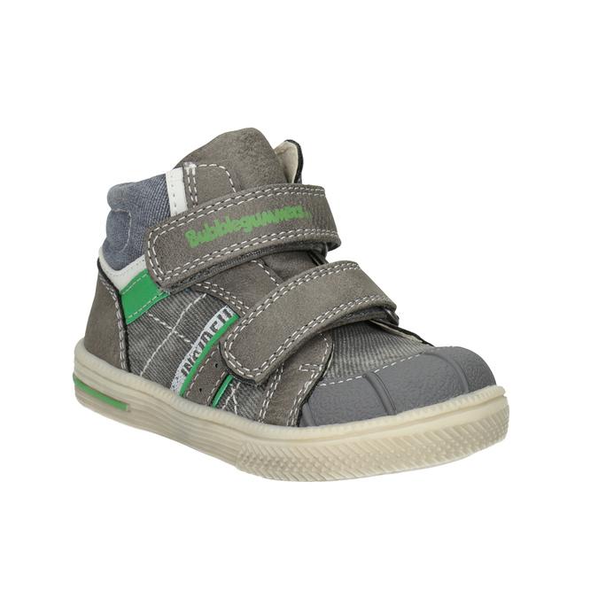 Kids' ankle boots bubblegummer, gray , 111-2614 - 13