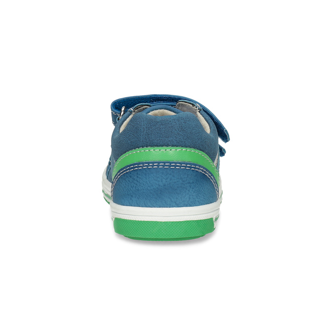Blue children's casual sneakers bubblegummer, blue , 111-9625 - 15