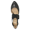 Ladies' leather pumps insolia, black , 624-6643 - 15