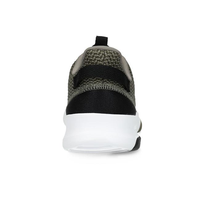 Sneakers in a sport design adidas, khaki, 809-7201 - 15