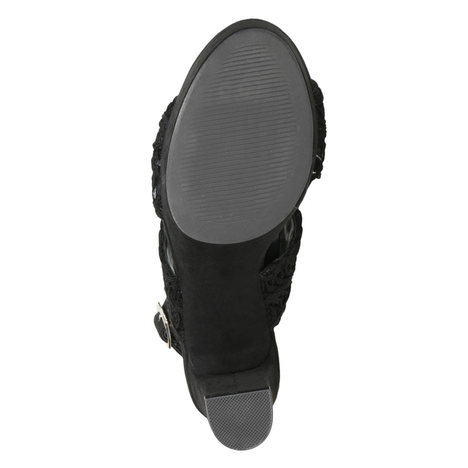 7696634 bata, black , 769-6634 - 17