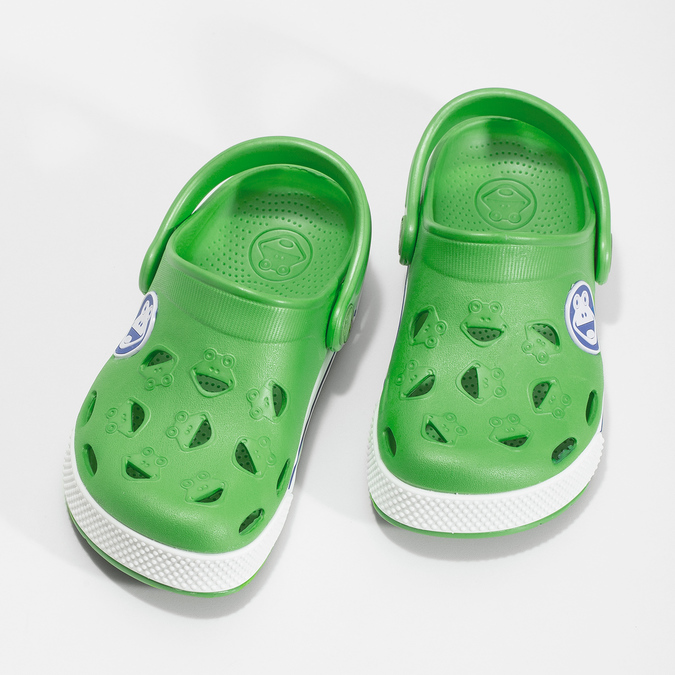 Children's green sandals coqui, green, 272-7603 - 16