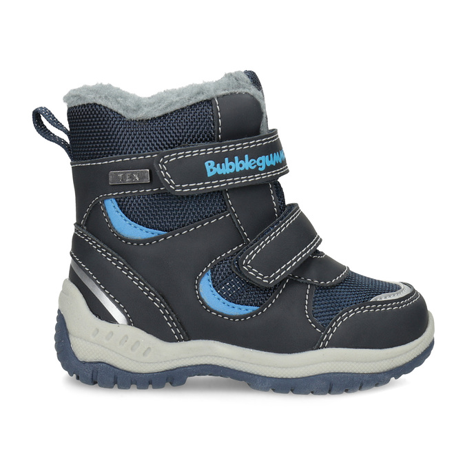 Children's Winter Boots with Fleece bubblegummer, blue , 199-9602 - 19