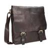 Men's Leather Bag bata, brown , 964-4234 - 13