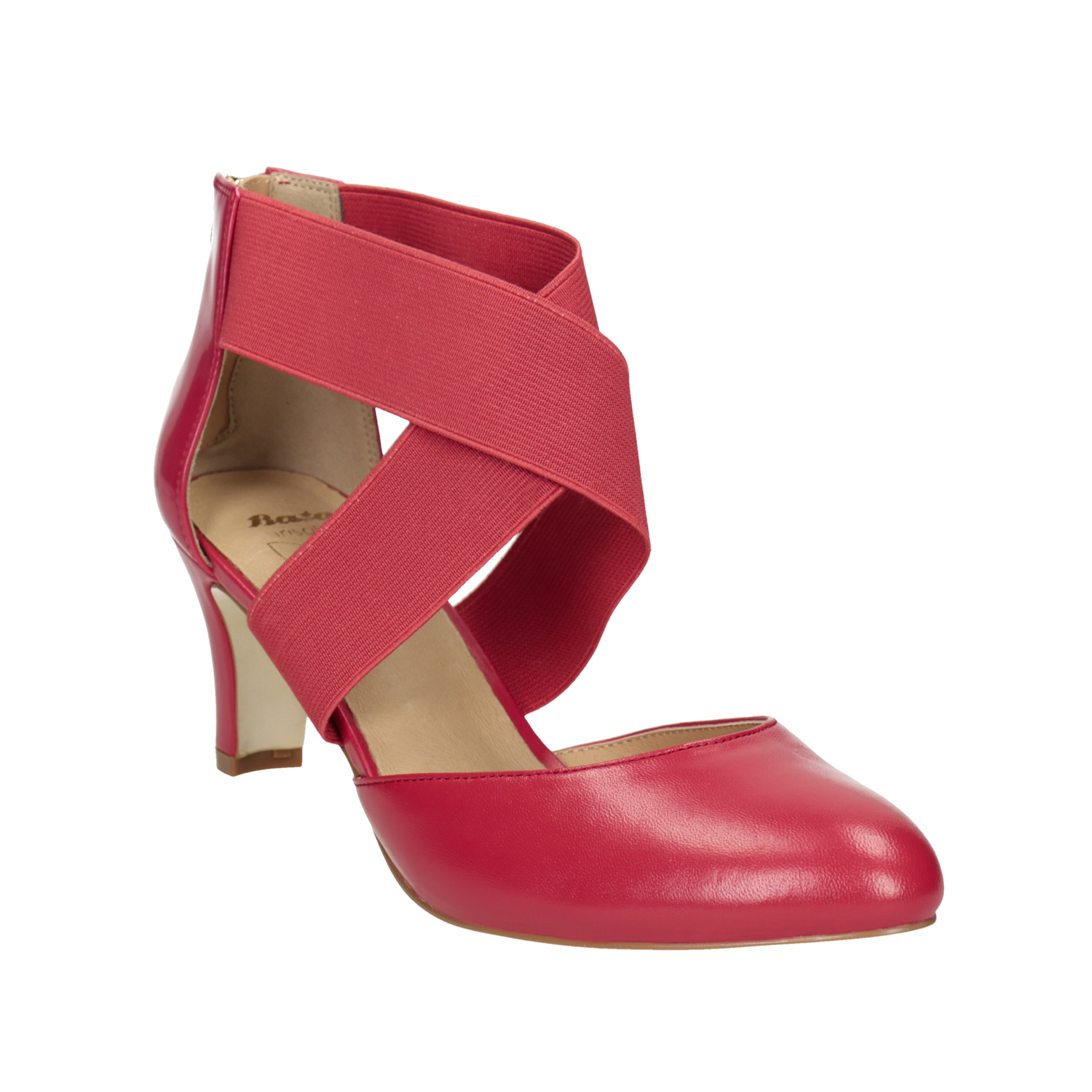 df53cd174458 Insolia Pink leather pumps - All Shoes